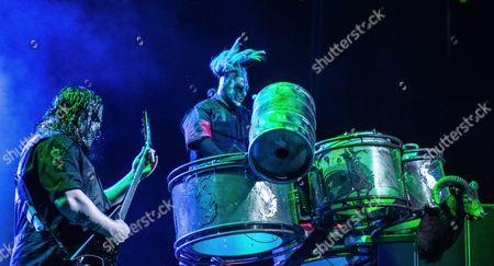 Editorial picture of Slipknot in concert at Bridgestone Arena, Nashville, Tennessee, USA - 28 Jun 2016