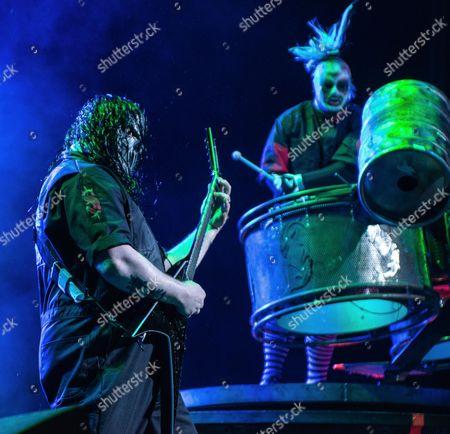 Stock Photo of Slipknot - Mick Tompson, Jay Weinberg