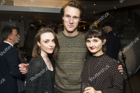Cassie Compton, Hugh Skinner and Ruby Bentall