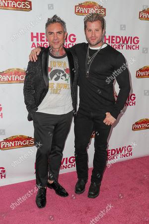 Brandon Liberati (L) and Craig Ramsay