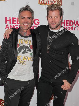 Stock Picture of Brandon Liberati (L) and Craig Ramsay