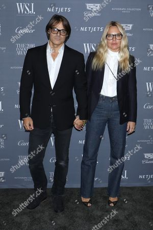 Mario Sorrenti and Mary Frey