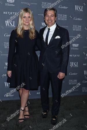 Kristina O'Neill and Anthony Cenname