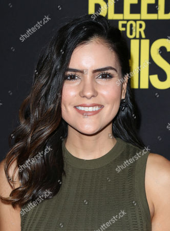 Editorial photo of 'Bleed for This' film premiere, arrivals, Los Angeles, USA - 02 Nov 2016
