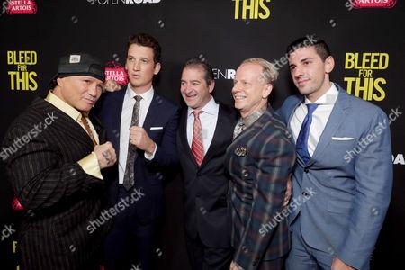 Vinny Paz, Miles Teller, Chad A. Verdi, Bruce Cohen, Joshua Sason