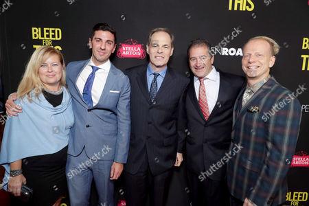 Michelle Verdi, Joshua Sason, Tom Ortenberg, Chad A. Verdi, Bruce Cohen