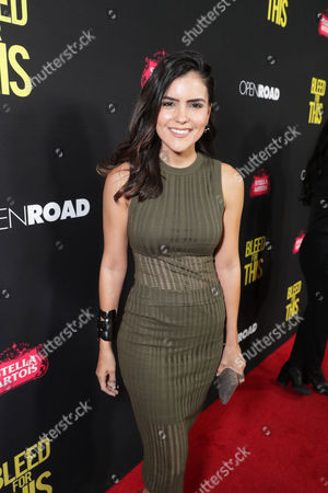 Editorial image of 'Bleed for This' film premiere, arrivals, Los Angeles, USA - 02 Nov 2016