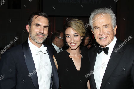 Paul Schneider, Teresa Schneider, Warren Beatty