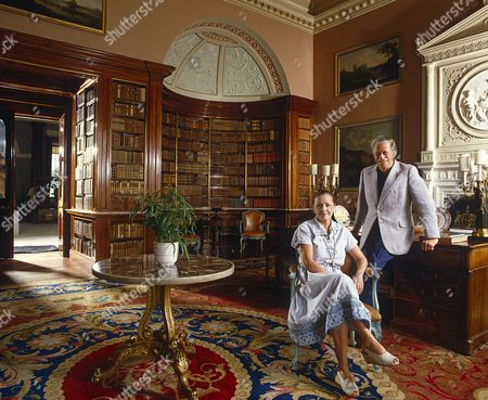 Lord and Lady Harewood at Harewood House - 1986