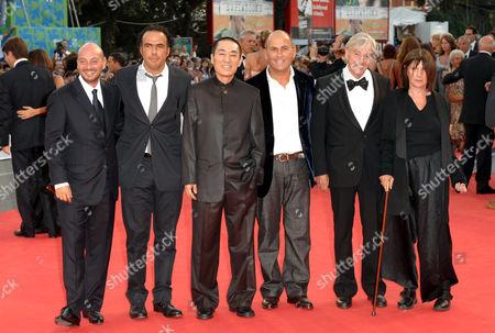 Emanuele Crialese, Alejandro Gonzalez Inarritu, Zhang Yimou, Ferzan Ozpetek, Paul Verhoeven and Catherine Breillat
