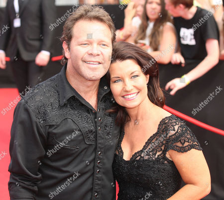 Troy Cassar-Daley, Laurel Edwards Australian singer Troy Cassar-Daley with wife Laurel Edwards arrive for the Australian Record Industry Association awards in Sydney, Australia