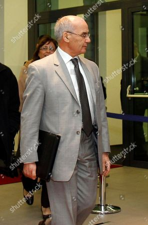Youcef Yousfi Algeria's Minister of Energy and Mines Youcef Yousfi arrives for the meeting of the ministerial monitoring sub-committee of the Organization of the Petroleum Exporting Countries, OPEC, at their headquarters in Vienna, Austria