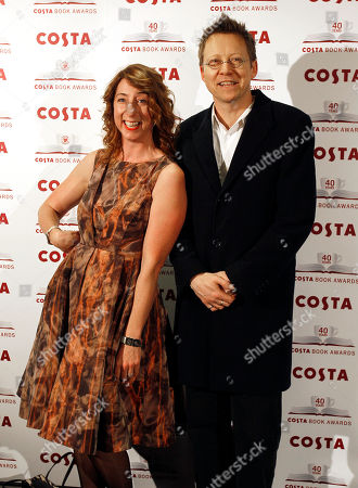 Simon Mayo, Jenny Colgan Radio presenter Simon Mayo and author Jenny Colgan arrive for the Costa Book of the Year Awards ceremony in London