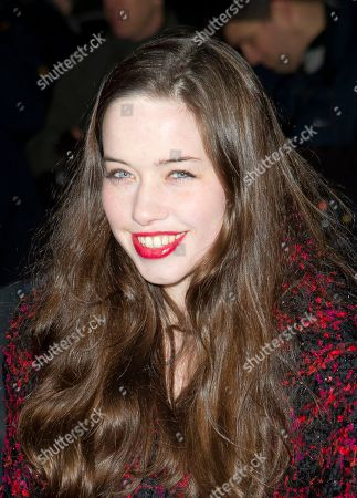 Anna Popplewell British actress Anna Popplewell arrives for the London Evening Standard British Film Awards at City Hall in Westminster, London