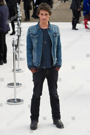 Stock Photo of Rob Pryor Rob Pryor arrives for the Burberry Prorsum fashion show at a central London venue