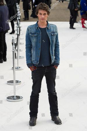 Editorial image of Britain Fashion Burberry Prorsum Arrivals