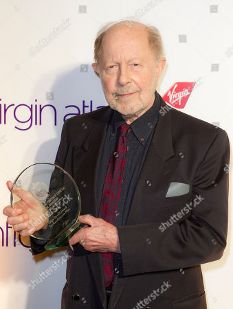Nicolas Roeg Nicolas Roeg poses with his Excellence In Film Award during the 32nd London Critics' Circle Film Awards at the BFI Southbank in central London, . The awards are determined through votes by over 120 UK film critics, broadcasters and writers