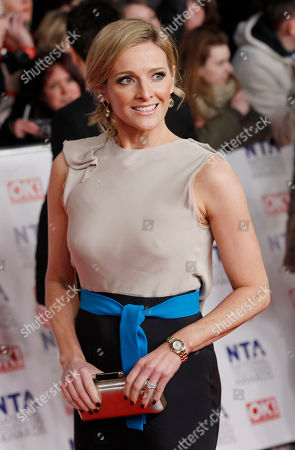 Gaby Logan Gaby Logan arrives for the National Television Awards at the 02 Arena in east London