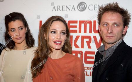 Editorial picture of Croatia Jolie, Zagreb, Croatia