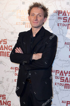 "Goran Kostic arrives for the screening of the movie ""In The Land of Blood and Honey"", in Paris"
