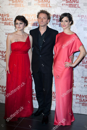 Editorial image of France In The Land of Blood and Honey Premiere, Paris, France