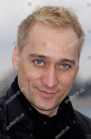 German Electronic Dance Music DJ, musician and record producer Paul Van Dyk poses at the 46th MIDEM (International record music publishing and video music market) in Cannes, southern France