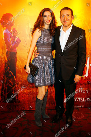 "Dany Boon, Yael Boon French actor and Director Dany Boon, right, and his wife Yael arrive for the screening of ""The Lady"" of French Director Luc Besson in Paris, . ""The Lady"" is inspired by the story of Burmese pro-democracy activist, leader and political prisoner Aung San Suu Kyi and the tenacious long-distance bond she maintained with her British husband, Michael Aris performed by actor David Thewlis while under house arrest for over a decade"