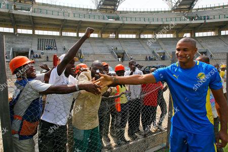 Editorial photo of Gabon African Cup Soccer, Libreville, Gabon