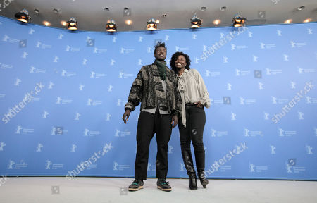 Aissa Maiga, Saul Williams From left U.S actor and musician Saul Williams and French actress Aissa Maiga at the photo call for the film Aujourd'hui (Tey) during the 62 edition of International Film Festival Berlinale, in Berlin