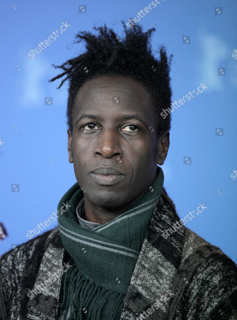 Aissa Maiga U.S actor and musician Saul Williams at the photo call for the film Aujourd'hui (Tey) during the 62 edition of International Film Festival Berlinale, in Berlin
