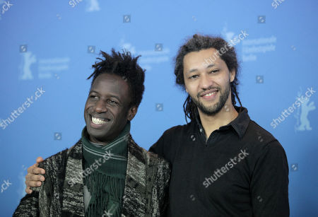 Alain Gomis, Saul Williams From left U.S actor and musician Saul Williams and French director Alain Gomis at the photo call for the film Aujourd'hui (Tey) during the 62 edition of International Film Festival Berlinale, in Berlin
