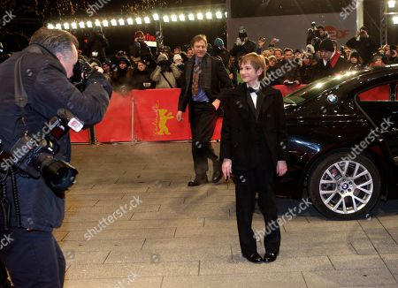 Thomas Horn Actor Thomas Horn arrives on the red carpet for the film Extremely Loud and Incredibly Close during the 62 edition of International Film Festival Berlinale, in Berlin