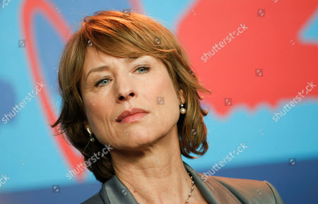 Corinna Harfouch Actress Corinna Harfouch attends a news conference of the film Home For The Weekend (Was Bleibt) at the 62 edition of the Berlinale, International Film Festival in Berlin