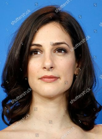 Goran Kostic Actress Zana Marjanovic attends the Photo Call of the film In the Land of Blood and Honey at the 62 edition of the Berlinale, International Film Festival in Berlin