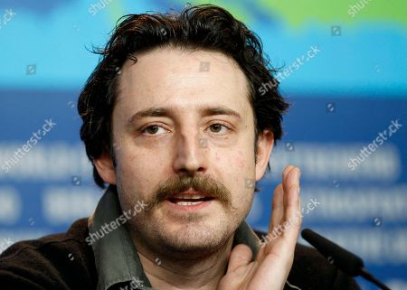 Stock Picture of Nikola Djuricko Actor Nikola Djuricko attends the press conference of the film In the Land of Blood and Honey at the 62 edition of the Berlinale, International Film Festival in Berlin