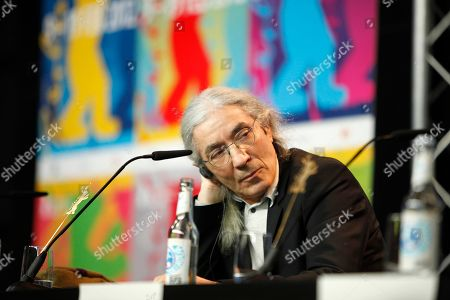 Boualem Sansal Algerian author Boualem Sansal, a members of the Jury, at the press conference during the 62 edition of International Film Festival Berlinale, in Berlin
