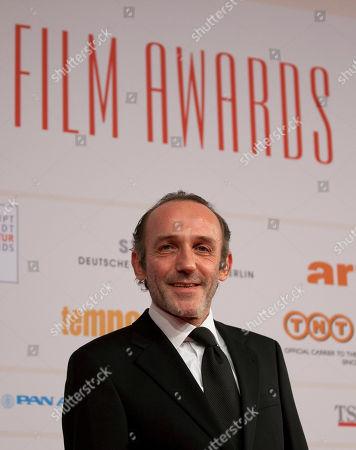 Stock Image of Karl Markovics Austrian actor and director Karl Markovics arrives for the 24rd European Film Awards in Berlin, Germany