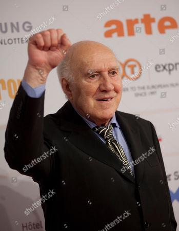 Michel Piccoli French actor Michel Piccoli arrives for the 24rd European Film Awards in Berlin, Germany