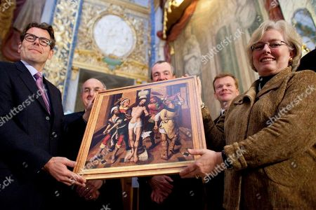 Editorial picture of Germany US Painting Returns, Berlin, Germany