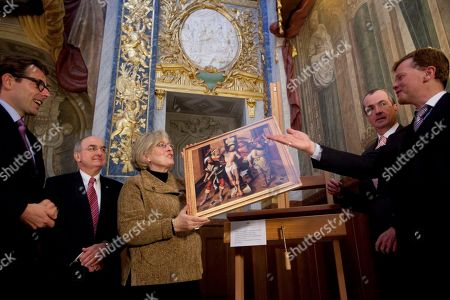 Editorial image of Germany US Painting Returns, Berlin, Germany