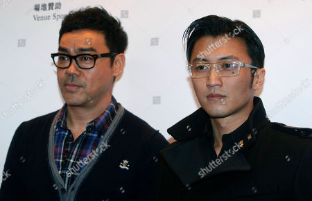 Nicholas Tse, Sean Lau Hong Kong actors Nicholas Tse, right, and Sean Lau pose during a news conference for the upcoming Hong Kong Film Awards in Hong Kong . Tse is nominated for best supporting actor this year, while Lau has been nominated in the best actor category. The awards will be held on April 15, 2012