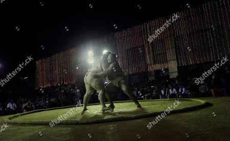 Editorial image of India Sumo Wrestling, Gauhati, India