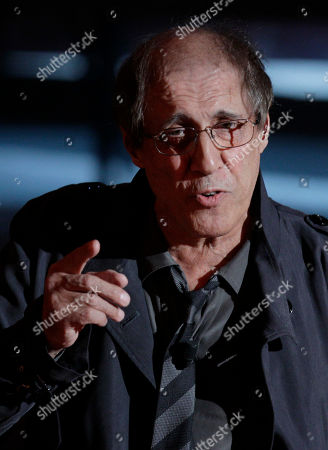 Italian singer Adriano Celentano preforms during the 62nd edition of the Sanremo Song Festival, in Sanremo, Italy