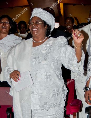 Joyce Banda Jan. 20, 2012, deputy president, Joyce Banda attends a protest against abuse of women, in Blantyre, Malawi. On, Banda was sworn in as the country's new President, to replace the late president Bingu wa Mutharika who died of a heart attack Thursday, April 5, 2012
