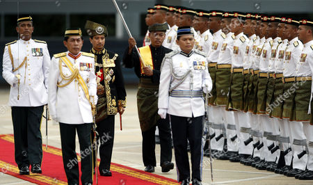 Mizan Zainal Abidin Malaysia's outgoing King, Sultan Mizan Zainal Abidin, third from left, inspects guard of honor during his official farewell ceremony at Parliament Square in Kuala Lumpur, Malaysia, . Mizan Zainal Abidin, who was proclaimed the Malaysia's 13th king on Dec. 13, 2006 for a five-year rotation period, completed his reign on Monday