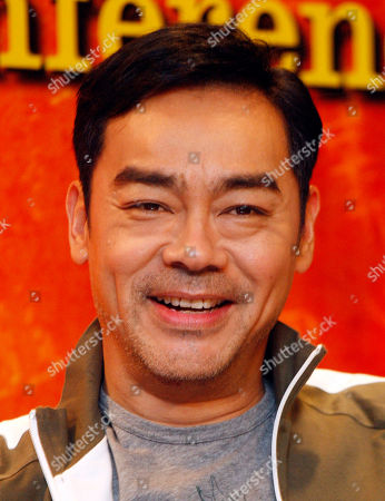 "Lau Ching Wan Hong Kong actor Lau Ching Wan smiles during a press conference to promote his latest movie ""The Great Magician"" in Kuala Lumpur, Malaysia"