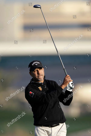 Jeev Milkha Singh Jeev Milkha Singh from India keeps his eye on the ball after driving from the third hole during the first round of the Dubai Desert Classic golf tournament, in Dubai, United Arab Emirates