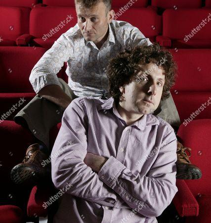 Comedians Hugh Dennis and Steve Punt