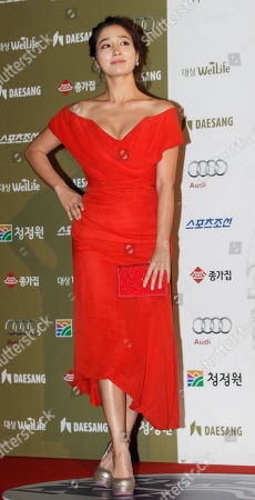 Lee Min-jung South Korean actress Lee Min-jung poses at the Blue Dragon Awards in Seoul, South Korea, . The Blue Dragon Awards is a major film and arts awards ceremony in the country