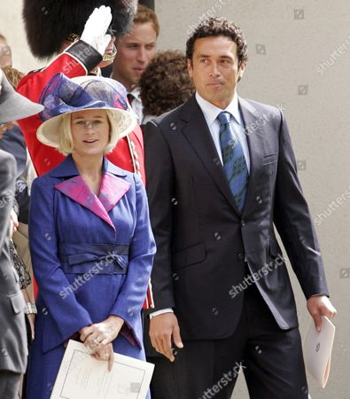 Lady Davina Windsor and husband Gary Lewis